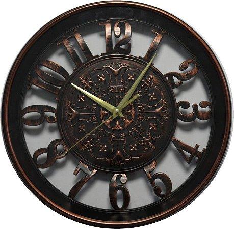 Relógio de parede Classic Bronze 30CM
