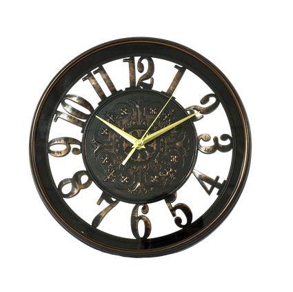 Relógio de parede Classic Preto 40CM