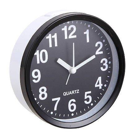 Relógio Despertador Modelo 5 Preto 680PT