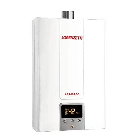 Aquecedor de Água a Gás Digital 2000DE-B GN Lorenzetti 7412133
