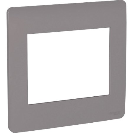 Placa 4x4 6 Postos Axis Grey Schneider Orion S730203224