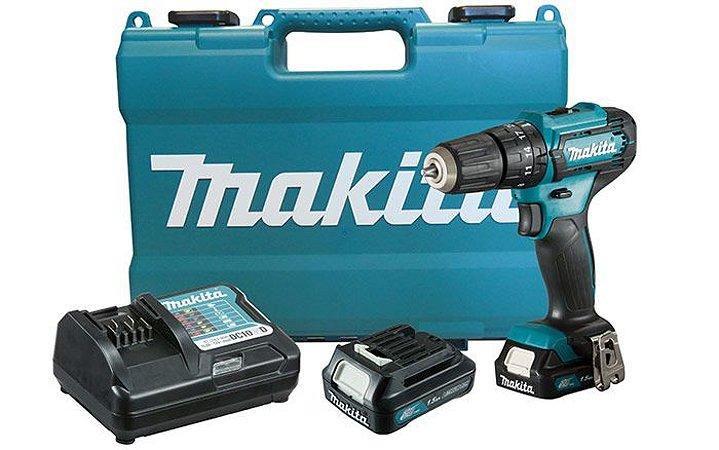 Parafusadeira / Furadeira 3/8' com bateria 12V Makita HP333DWYE