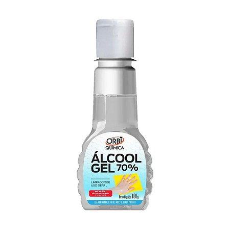 Álcool Gel 70% Higienizador de Mãos 100g