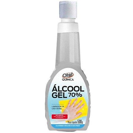 Álcool Gel 70% Higienizador de Mãos 500g