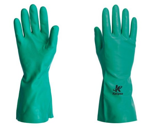 Luva Nitrilica K10 Verde Kalipso