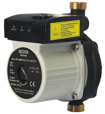 Mini Pressurizador GP120PPA Nylon 127V Inova