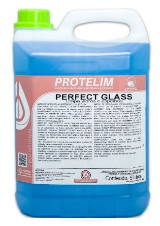 PROTELIM PERFECT GLASS  LIMPA  VIDROS 5L