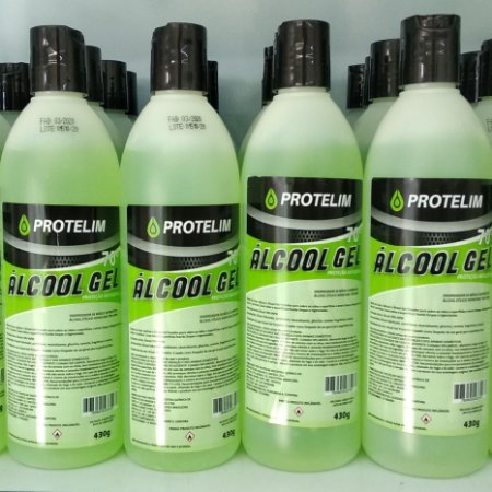 PROTELIM ÁLCOOL GEL 70%  430 ml