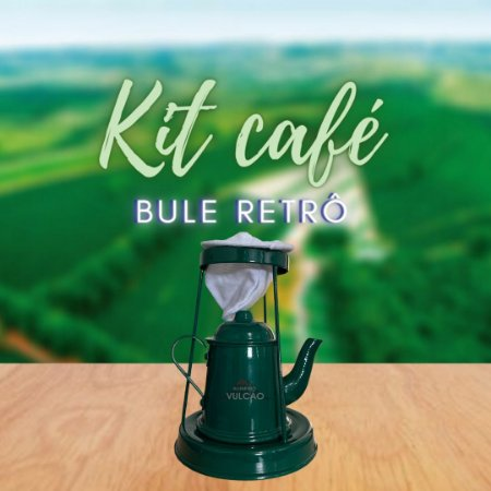 KIT CAFÉ NO BULE RETRÔ