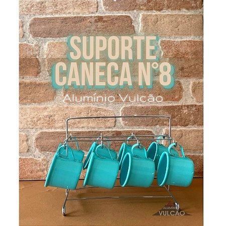 SUPORTE C/ 8 CANECAS