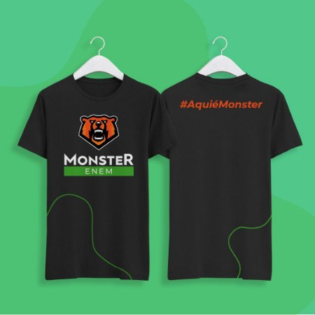 Camisa Monster Enem