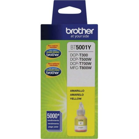 Tinta Brother BT5001 Amarelo