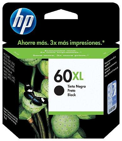 Cartucho HP 60XL Preto - CC641WB