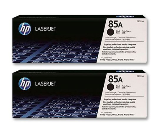 Kit Toner original HP 2X CE285A (85A)