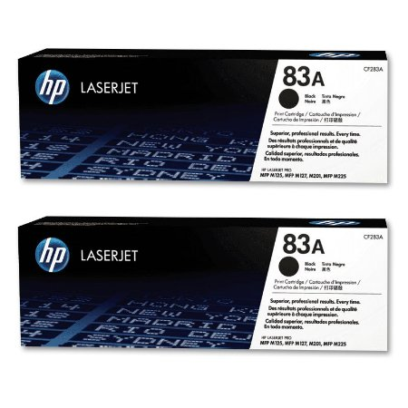 kit Toner original HP 2X CF283AB (83A)
