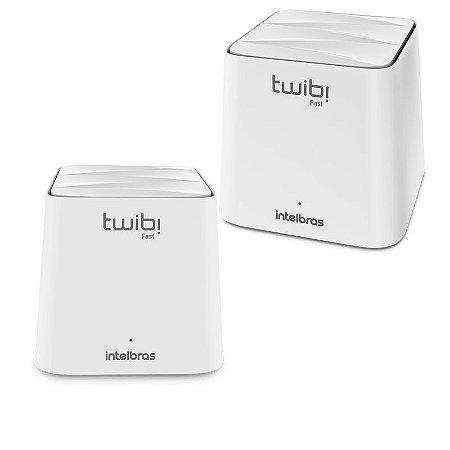 Kit Roteador Twibi Fast Wi-Fi 5 Mesh - Intelbras