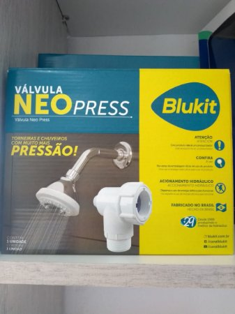 Válvula Neo Press, Pressão para sua casa