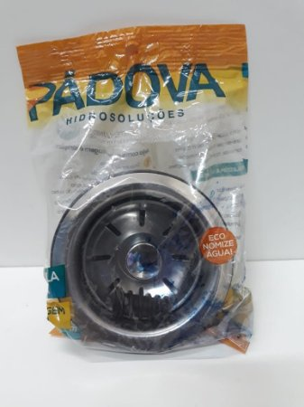Válvula Inox 3. 1/2 Puxador Plástico Cromado