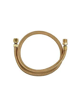 Ligação Flexível Tombak 3/8 x 1/2 NBR 14177 - GLP - GN - 80cm