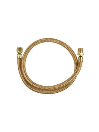 Ligação Flexível Tombak 3/8 x 1/2 NBR 14177 - GLP - GN - 60cm