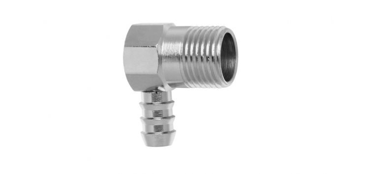 Adaptador Vertical para Instalação de Gás Rosca 1/2 x Espigão 3/8 - Blukit