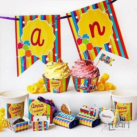 Kit Festa Infantil Alegria