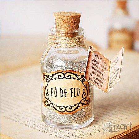 Lembrancinha Pó de Flu - Harry Potter