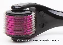 Dermaroller  540 agulhas - 1.5mm - MT- TITANIUM ORIGINAL