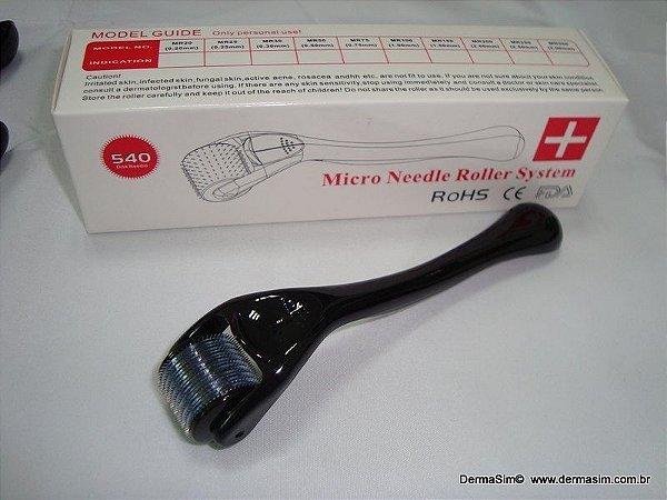 Dermaroller 540 agulhas - 1.0mm