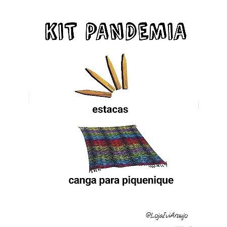 KIT PANDEMIA: uma canga + esticadores