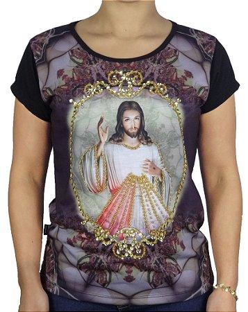 Jesus Misericordioso  Mosaico (peça unica)