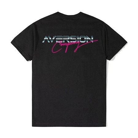Camiseta T-shirt Aversion Unissex Preta - Model Miami