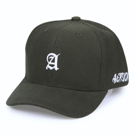 Boné Aversion Snapback Aba Curva Verde - Model League Green