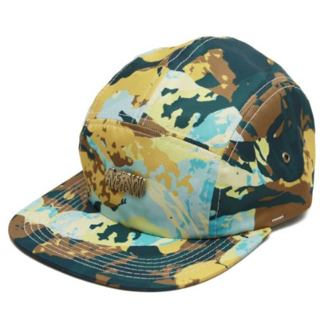 Boné Aversion Five Panel Aba Reta Camuflado - Model Paint