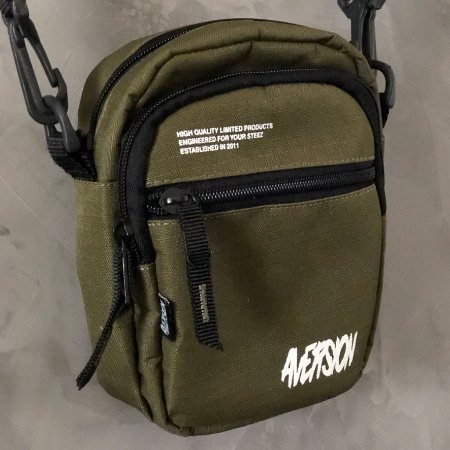 Bolsa Lateral Shoulder Bag Aversion Verde Militar