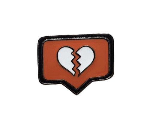 Pin - Like Coração Quebrado
