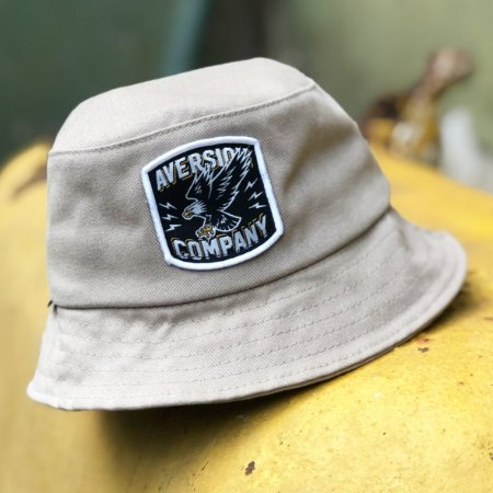 Chapéu Bucket Hat Aversion Khaki Bege - Model Eagle