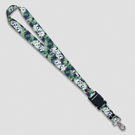 Cordão Chaveiro Keychain Aversion Camuflado Verde