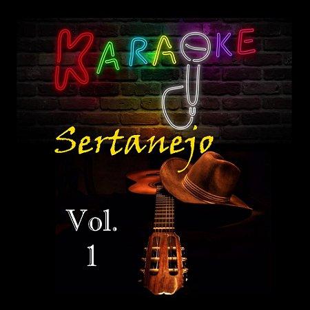 Especial Videoke Karaoke Sertanejo Volume 1
