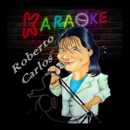 DVD Roberto Carlos - 98 Músicas Videoke Karaoke