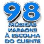 98 Musicas Videoke Karaoke a Escolha do Cliente