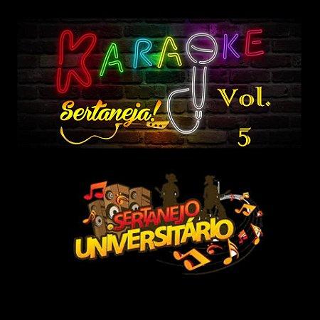 Especial Videoke Karaoke Sertanejo Volume 5