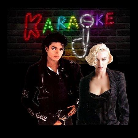 Especial Videoke Karaoke Madonna e Michael Jackson