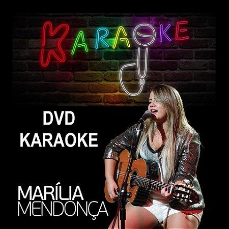 DVD Karaoke Marília Mendonça