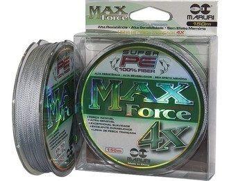 Linha Multifilamento Maruri Max Force 4X 0,24mm 150 Metros