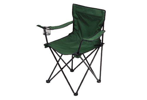 Cadeira Camping Dobrável com Porta Copo Verde Oliva
