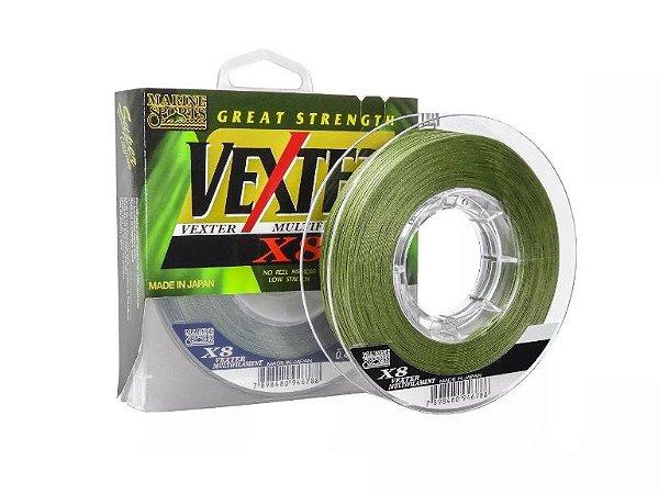 Linha Vexter Multifilamento X8 150m - 0,19mm