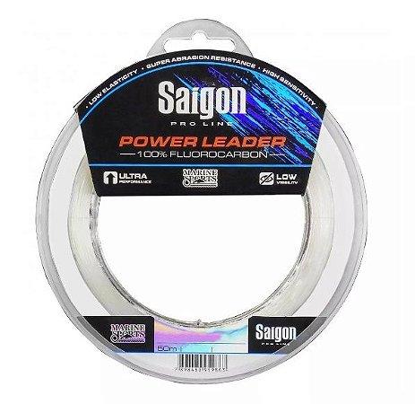 Linha Saigon Fluorocarbon 50m - Power Leader