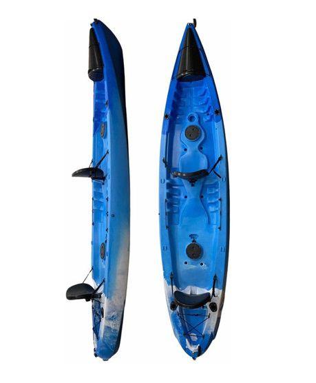 Caiaque Orca (Duplo) Completo com Caixa Estanque Frontal