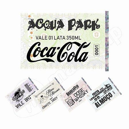 Ticket de Consumo Master c/ Holografia